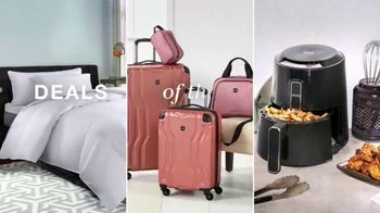 Macy's One Day Sale TV Spot, 'Comforters, Luggage and Small Appliances' - Thumbnail 3