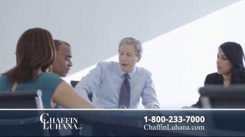 Chaffin Luhana TV Spot, 'Numbers' - Thumbnail 7