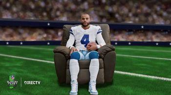 DIRECTV NFL Sunday Ticket TV Spot, 'Recliner' Featuring Dak Prescott - Thumbnail 1