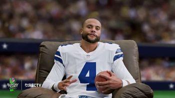 DIRECTV NFL Sunday Ticket TV Spot, 'Recliner' Featuring Dak Prescott - Thumbnail 2