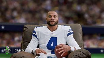 DIRECTV NFL Sunday Ticket TV Spot, 'Recliner' Featuring Dak Prescott - Thumbnail 3