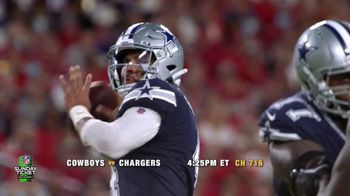 DIRECTV NFL Sunday Ticket TV Spot, 'Recliner' Featuring Dak Prescott - Thumbnail 5