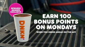 Dunkin' TV Spot, 'Coffee Before the Bears Game: Earn 100 Bonus Points on Mondays' - Thumbnail 10