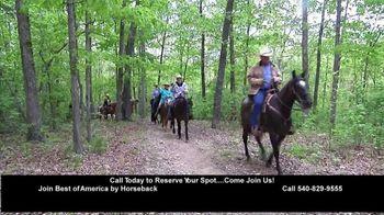 Best of America by Horseback TV Spot, 'Elkins Creek, Kanopolis Park, Hughes Ranch, Trails Etc.' - Thumbnail 1