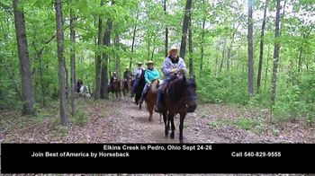 Best of America by Horseback TV Spot, 'Elkins Creek, Kanopolis Park, Hughes Ranch, Trails Etc.' - Thumbnail 2