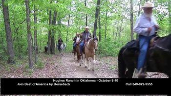 Best of America by Horseback TV Spot, 'Elkins Creek, Kanopolis Park, Hughes Ranch, Trails Etc.' - Thumbnail 4
