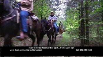 Best of America by Horseback TV Spot, 'Elkins Creek, Kanopolis Park, Hughes Ranch, Trails Etc.' - Thumbnail 6
