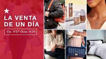 Macy's La Venta de un Día TV Spot, 'Ropa, fragancias y joyas'  [Spanish]