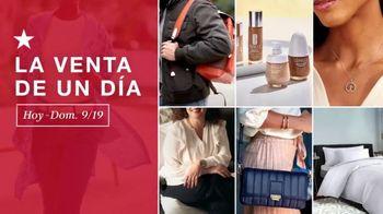Macy's La Venta de un Día TV Spot, 'Edredones, equipaje y electrodomésticos' [Spanish]