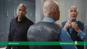 The General TV Spot, 'Shower' Ft. Shaquille O'Neal, Kenny Smith, Ernie Johnson Jr.