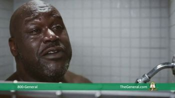The General TV Spot, 'Shower' Ft. Shaquille O'Neal, Kenny Smith, Ernie Johnson Jr. - Thumbnail 2