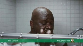 The General TV Spot, 'Shower' Ft. Shaquille O'Neal, Kenny Smith, Ernie Johnson Jr. - Thumbnail 3