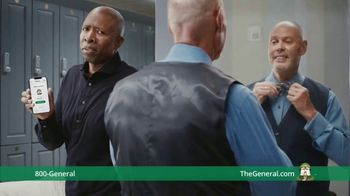 The General TV Spot, 'Shower' Ft. Shaquille O'Neal, Kenny Smith, Ernie Johnson Jr. - Thumbnail 7