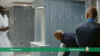 The General TV Spot, 'Shower' Ft. Shaquille O'Neal, Kenny Smith, Ernie Johnson Jr. - Thumbnail 8