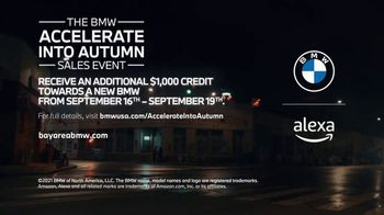 BMW Accelerate Into Autumn Sales Event TV Spot, 'Unparalleled Connection' Song by Calvin Harris [T2] - Thumbnail 10