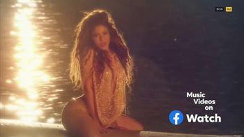 Facebook Watch TV Spot, 'Share Music Videos' Song by Shakira