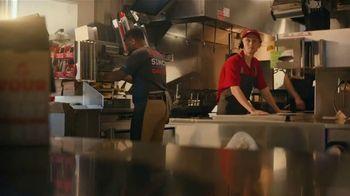 Wendy's TV Spot, 'Reggie Bush: Oven Baked Bacon' - Thumbnail 3