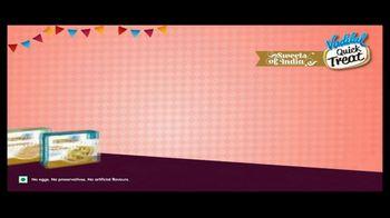 Vadilal Quick Treat TV Spot, 'Kaju Anjeer Roll and More' - Thumbnail 2