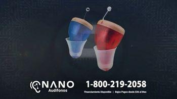 Nano Hearing Aids CIC Recharge TV Spot, 'Pequeños pero potentes' [Spanish]