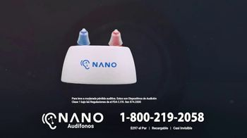 Nano Hearing Aids CIC Recharge TV Spot, 'Pequeños pero potentes' [Spanish] - Thumbnail 2