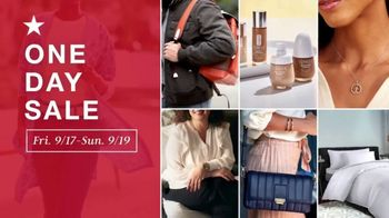 Macy's One Day Sale TV Spot, 'Fragrances, Jewelry and Same Day Delivery' - Thumbnail 1