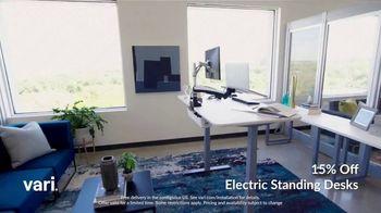 Vari TV Spot, 'Standing Desks: 15% Off' - Thumbnail 1