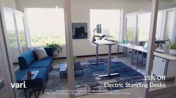 Vari TV Spot, 'Standing Desks: 15% Off' - Thumbnail 2