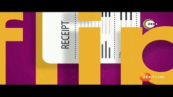 ZEE5 TV Spot, 'Flip the Receipt' Song by Eddie Fearne, Time Carrabba