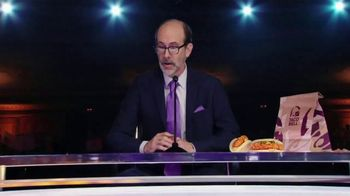 Taco Bell Crispy Chicken Sandwich Taco TV Spot, 'Debate: Tortilla' Featuring Brian Huskey - Thumbnail 3