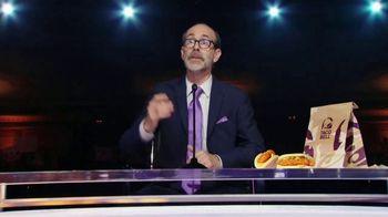 Taco Bell Crispy Chicken Sandwich Taco TV Spot, 'Debate: Tortilla' Featuring Brian Huskey - Thumbnail 6