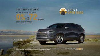 Chevrolet Open Road TV Spot, 'Open' [T2] - Thumbnail 7