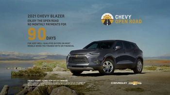 Chevrolet Open Road TV Spot, 'Open' [T2] - Thumbnail 6
