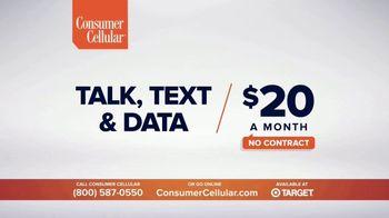 Consumer Cellular TV Spot, 'NBY Folks: $25 Off' - Thumbnail 3