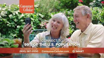 Consumer Cellular TV Spot, 'NBY Folks: $25 Off' - Thumbnail 7
