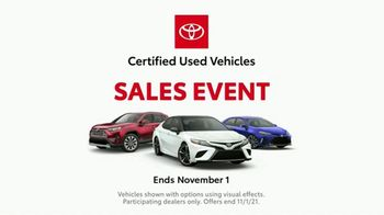 Toyota Certified Used Vehicles Sales Event TV Spot, 'Cue Cards' [T1] - Thumbnail 5
