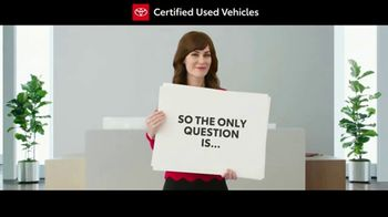Toyota Certified Used Vehicles Sales Event TV Spot, 'Cue Cards' [T1] - Thumbnail 3