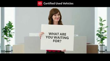 Toyota Certified Used Vehicles Sales Event TV Spot, 'Cue Cards' [T1] - Thumbnail 4