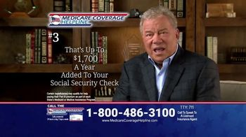 Medicare Coverage Helpline TV Spot, 'Medicare Has Changed' Featuring William Shatner - Thumbnail 6