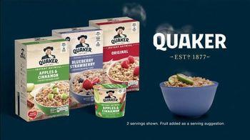 Quaker Instant Oatmeal Apples & Cinnamon TV Spot, 'The Grain of All Time' - Thumbnail 10
