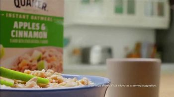 Quaker Instant Oatmeal Apples & Cinnamon TV Spot, 'The Grain of All Time' - Thumbnail 3