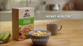 Quaker Instant Oatmeal Apples & Cinnamon TV Spot, 'The Grain of All Time' - Thumbnail 5