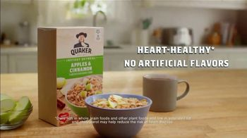 Quaker Instant Oatmeal Apples & Cinnamon TV Spot, 'The Grain of All Time' - Thumbnail 6