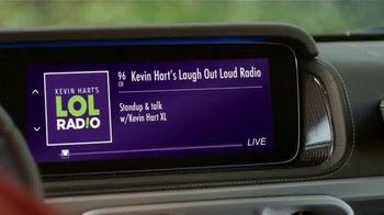 SiriusXM Satellite Radio TV Spot, 'The Home of SiriusXM Presents: Gizmos' Featuring Kevin Hart, LL Cool J - Thumbnail 2