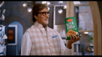 Bikaji Soya Sticks TV Spot, 'So Good Looking' Featuring Amitabh Bachchan