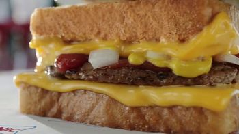Sonic Drive-In Grilled Cheese Burger TV Spot, 'Bienvenidos' [Spanish]