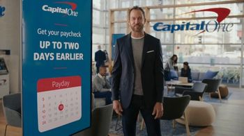Capital One Early Paycheck TV Spot, 'Birthday Party'