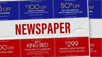 Rooms to Go Labor Day Sale TV Spot, 'Find Your Coupons' - Thumbnail 3