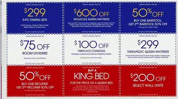 Rooms to Go Labor Day Sale TV Spot, 'Find Your Coupons' - Thumbnail 7