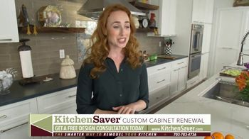 Kitchen Saver Cabinet Refacing TV Spot, 'Less Time, Cost and Mess' - Thumbnail 7