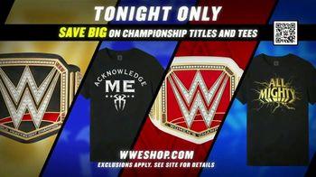 WWE Shop TV Spot, 'Feeling Good: Save Big on Championship Titles and Tees' - Thumbnail 8